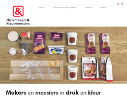 website Drukmakers en Kleurmeesters